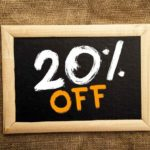Cleaning Discount 20% Off